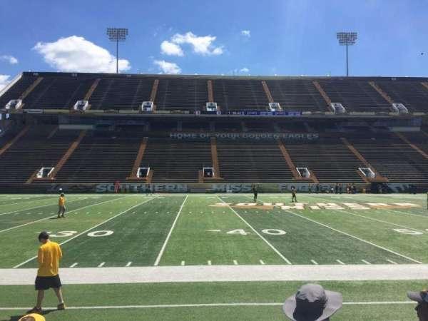 M. M. Roberts Stadium, secção: F, fila: 6, lugar: 7
