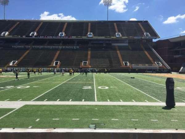 M. M. Roberts Stadium, secção: C, fila: 3, lugar: 2