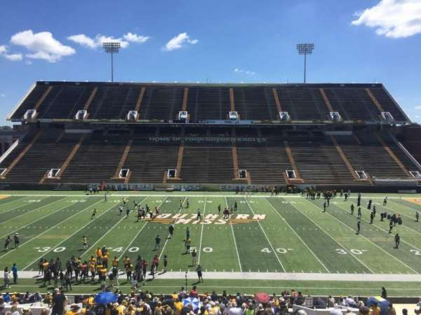 M. M. Roberts Stadium, secção: E, fila: 43, lugar: 14