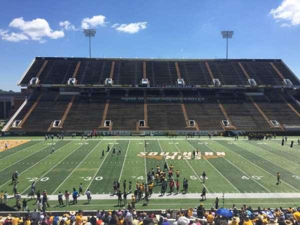 M. M. Roberts Stadium, secção: F, fila: 43, lugar: 9