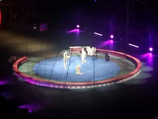 Infinite Energy Arena, secção: 222, fila: D, lugar: 7