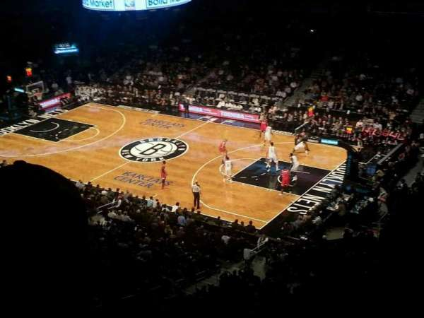 Barclays Center, secção: 220, fila: 4, lugar: 21