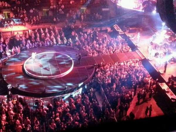 Madison Square Garden, secção: 313, fila: 1, lugar: 13