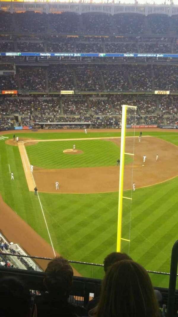Yankee Stadium, secção: 407b, fila: 5, lugar: 1
