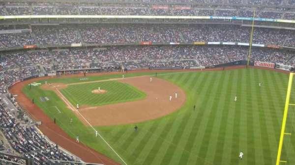 Yankee Stadium, secção: 408, fila: 10, lugar: 18
