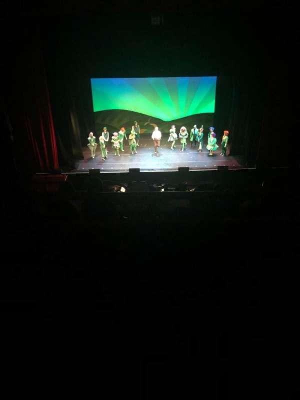 Chicago Theatre, secção: Balcony4, fila: A , lugar: 404