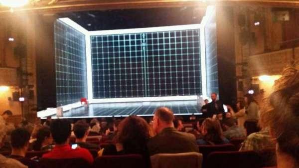 Ethel Barrymore Theatre, secção: Orchestra C, fila: P, lugar: 113