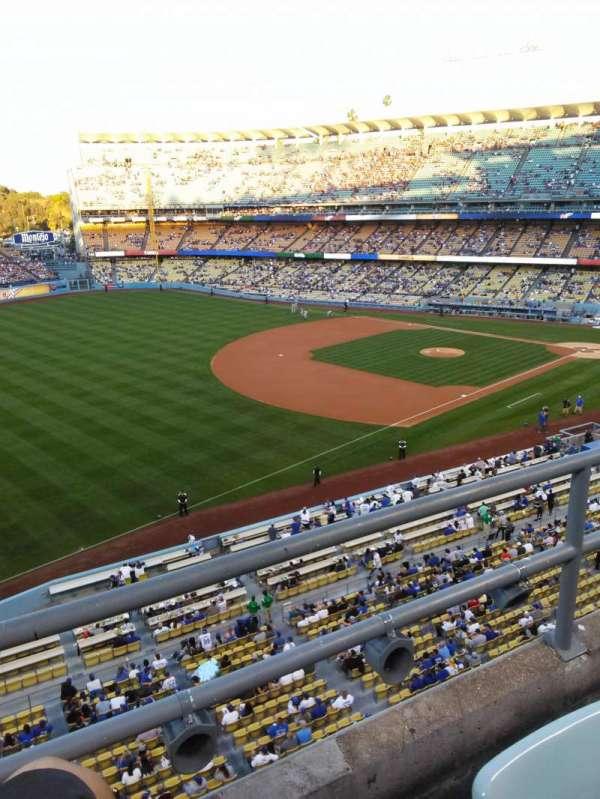 Dodger Stadium, secção: 35RS, fila: B, lugar: 21