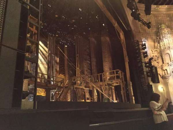Orpheum Theatre (San Francisco), secção: Orchestra L, fila: C, lugar: 9