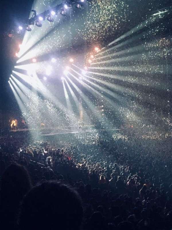 The O2 Arena, secção: 104, fila: S, lugar: 127