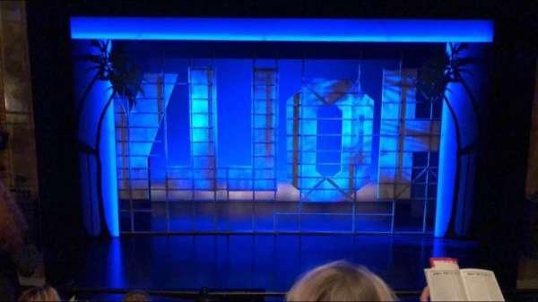 Nederlander Theatre, secção: Mezzanine C, fila: D, lugar: 108