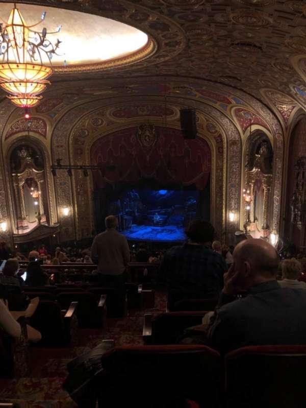 Providence Performing Arts Center, secção: Second Dress Circle (Right), fila: R, lugar: 4
