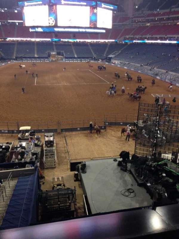NRG Stadium, secção: 352, fila: A, lugar: 21