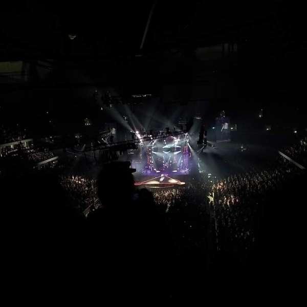 Honda Center, secção: 433, fila: M, lugar: 7, 8, 9, 10
