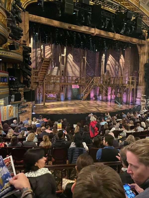 Richard Rodgers Theatre, secção: Orchestra L, fila: O, lugar: 23