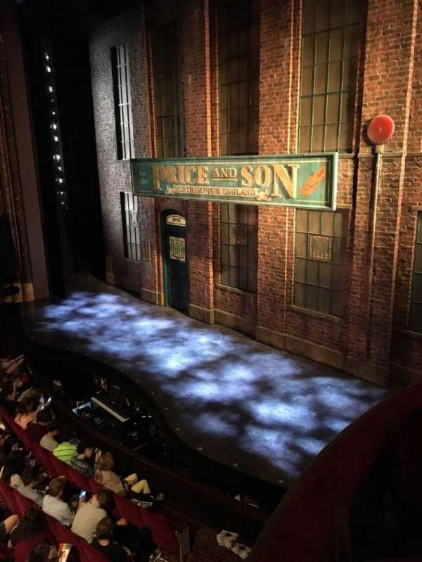 Al Hirschfeld Theatre, secção: Right box, fila: F, lugar: 13