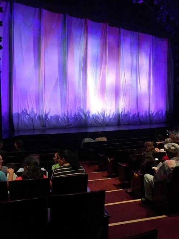 Marquis Theatre, secção: Orchestra L, fila: J, lugar: 3