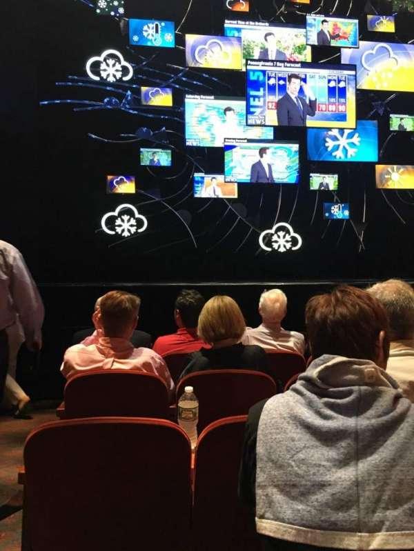 August Wilson Theatre, secção: Orchestra R, fila: F, lugar: 114