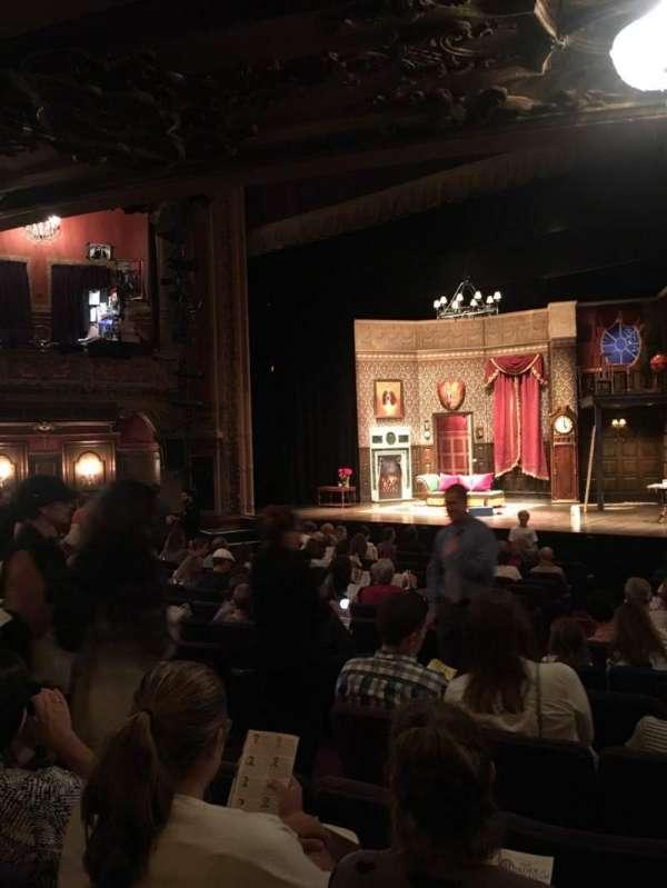 Lyceum Theatre (Broadway), secção: Orch, fila: X