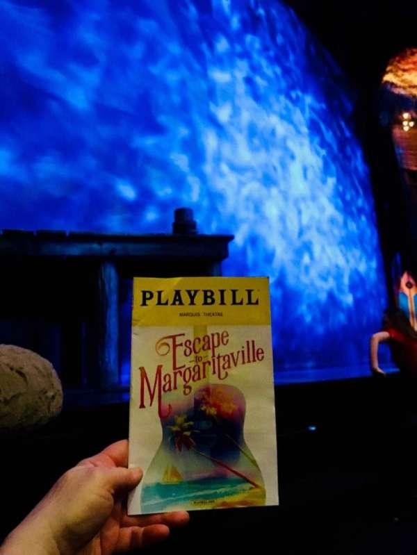 Marquis Theatre, secção: Orchestra L, fila: B