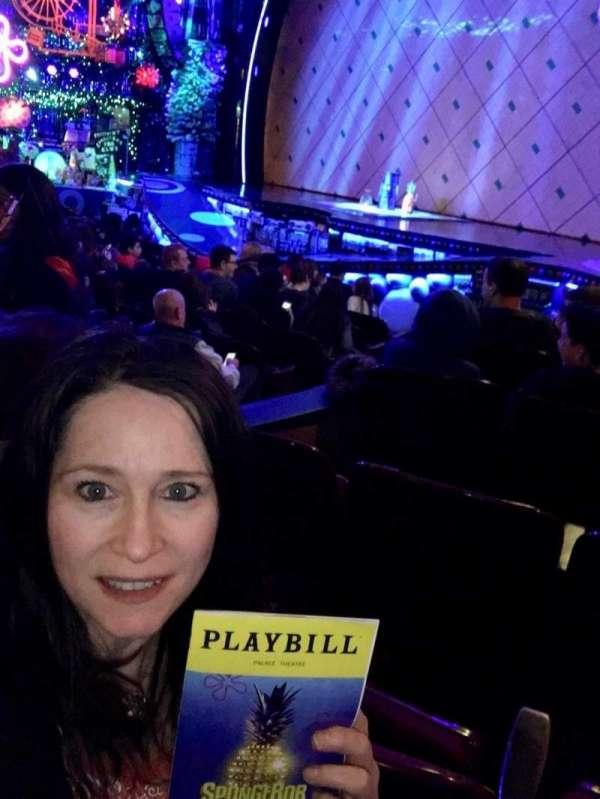 Palace Theatre (Broadway), secção: R Orch, fila: L