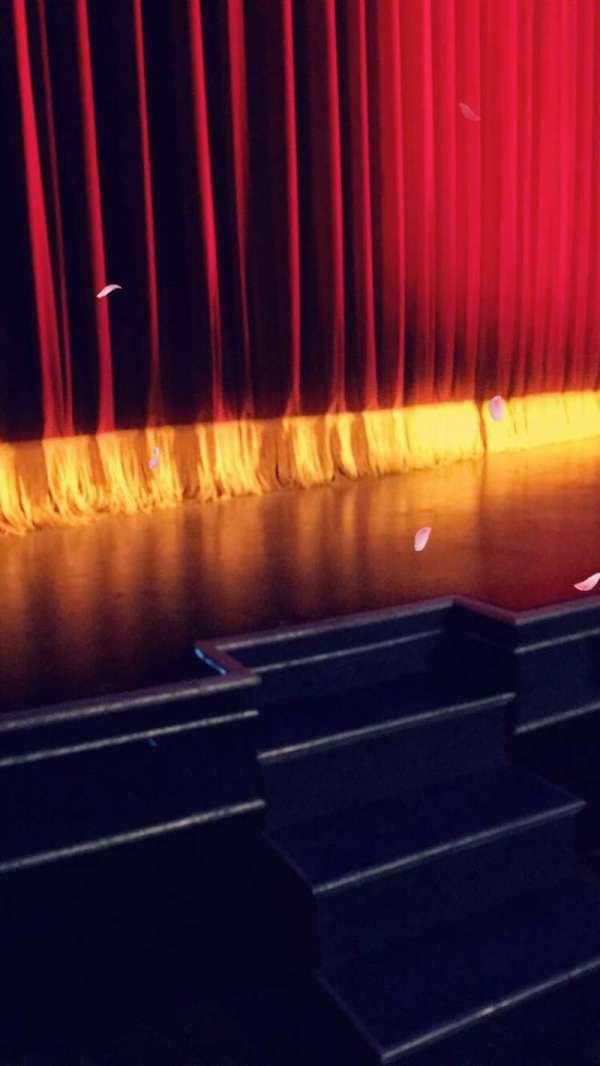 Studio 54, secção: Orch, fila: A, lugar: 3