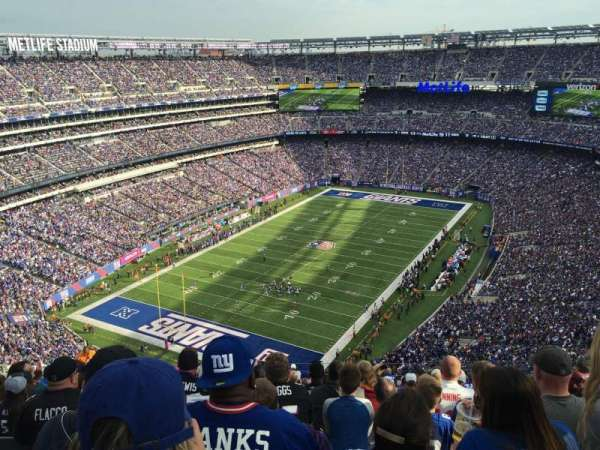MetLife Stadium, secção: 347, fila: 23, lugar: 13