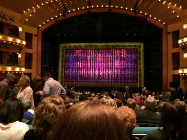 Procter And Gamble Hall at the Aronoff Center, secção: Rear Orchestra C, fila: R, lugar: 212