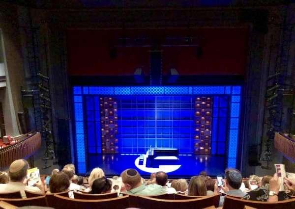 Stephen Sondheim Theatre, secção: Mezzanine C, fila: HH, lugar: 111