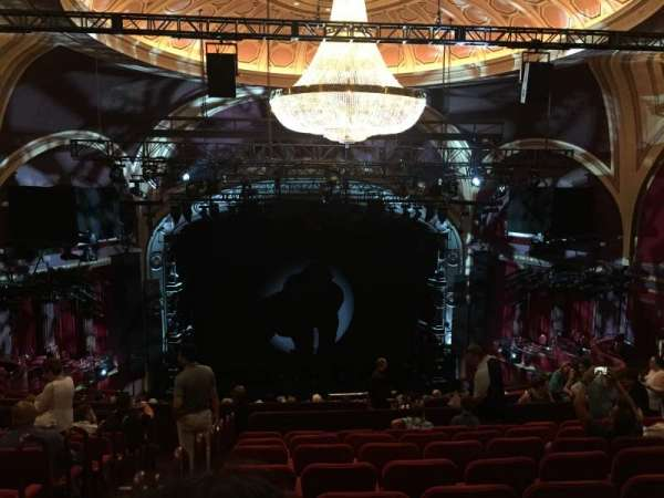 Broadway Theatre - 53rd Street, secção: Rear Mezzanine C, fila: K, lugar: 103