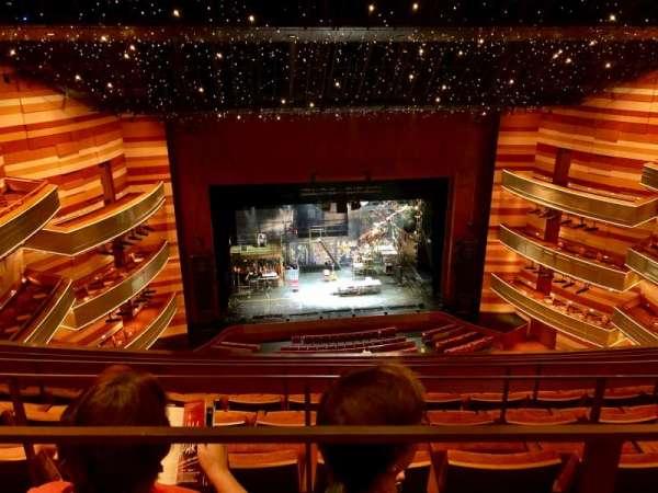 Eccles Theater, secção: TL 3, fila: E, lugar: 22