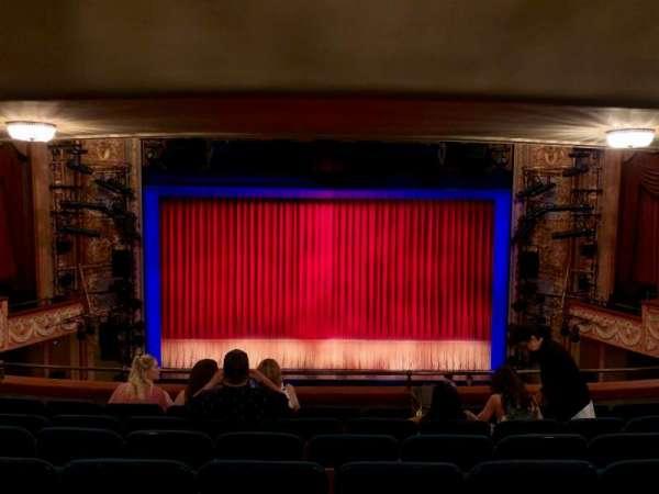 Longacre Theatre, secção: MEZZ, fila: G, lugar: 107