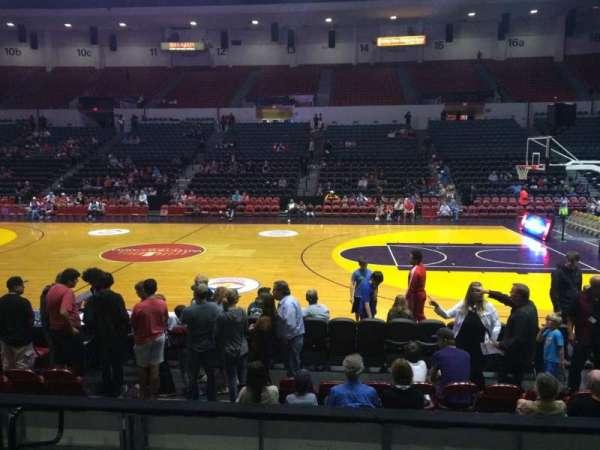 Pechanga Arena, secção: LL24, fila: 6, lugar: 11