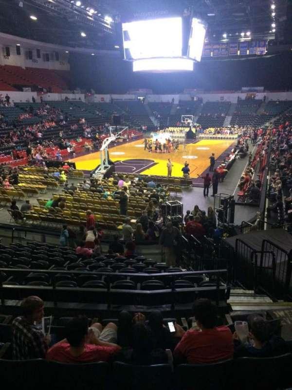 Pechanga Arena, secção: L6a, fila: 6, lugar: 5
