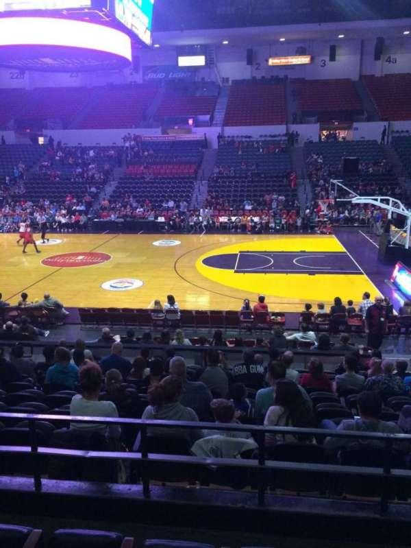 Pechanga Arena, secção: L12, fila: 4, lugar: 5