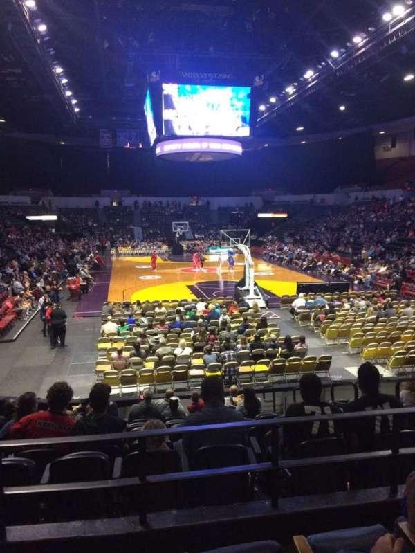 Pechanga Arena, secção: L20a, fila: 4, lugar: 6