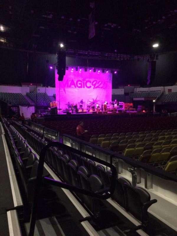 Pechanga Arena, secção: LL24, fila: 4, lugar: 12