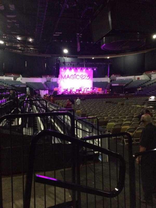 Pechanga Arena, secção: LL21, fila: 4, lugar: 10