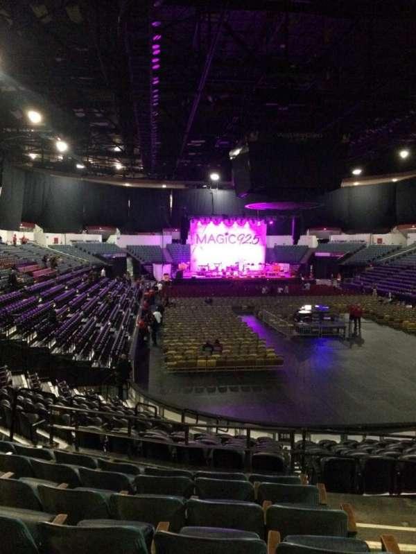 Pechanga Arena, secção: L20b, fila: 7, lugar: 2