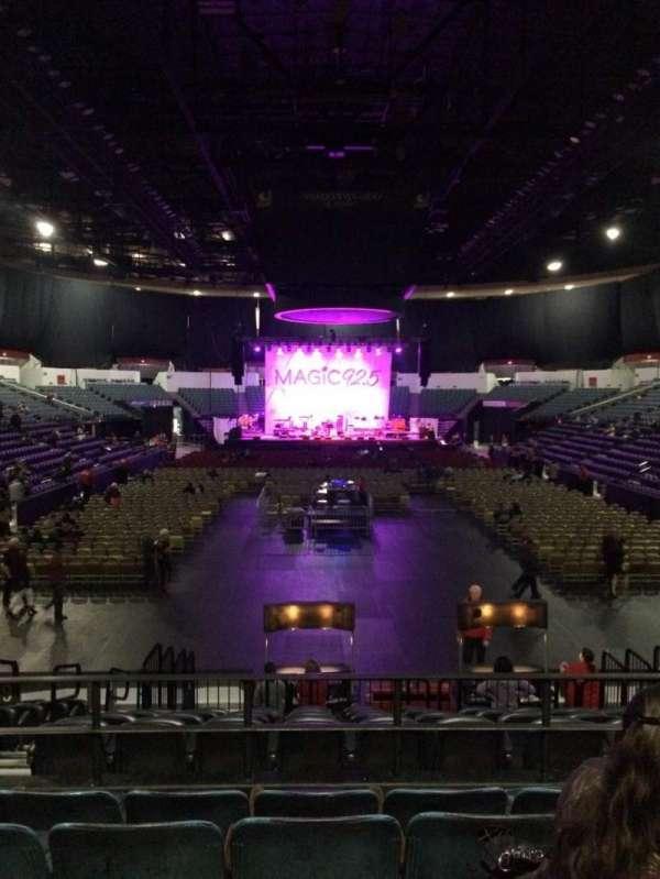 Pechanga Arena, secção: L19, fila: 5, lugar: 9