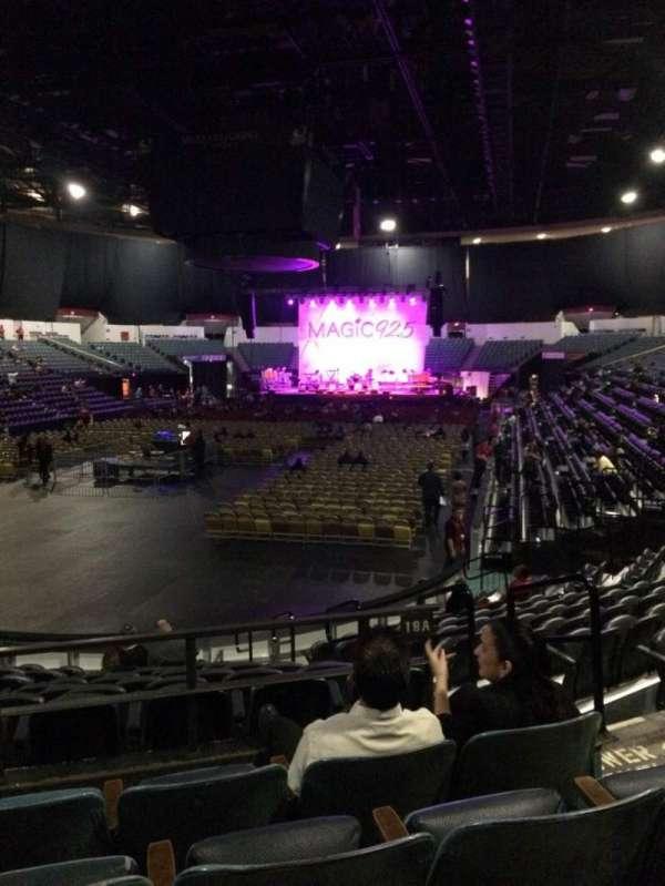 Pechanga Arena, secção: L18a, fila: 4, lugar: 4