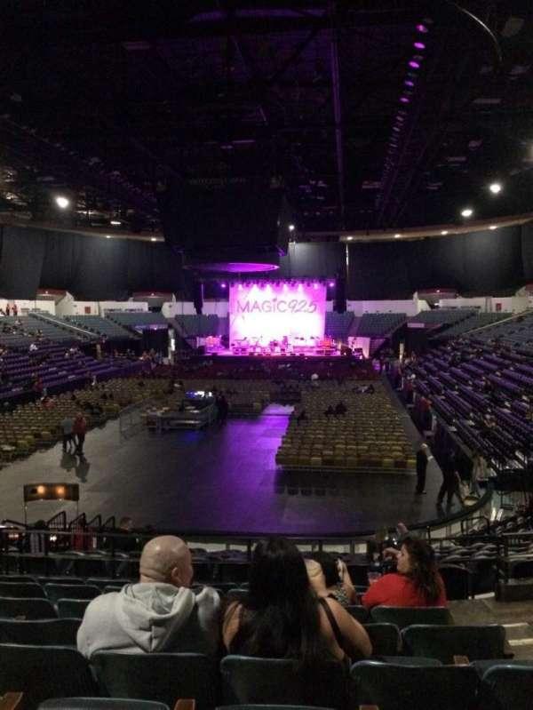 Pechanga Arena, secção: L18b, fila: 8, lugar: 3