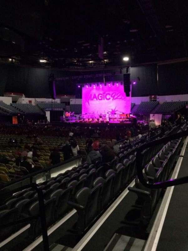 Pechanga Arena, secção: LL15, fila: 7, lugar: 3
