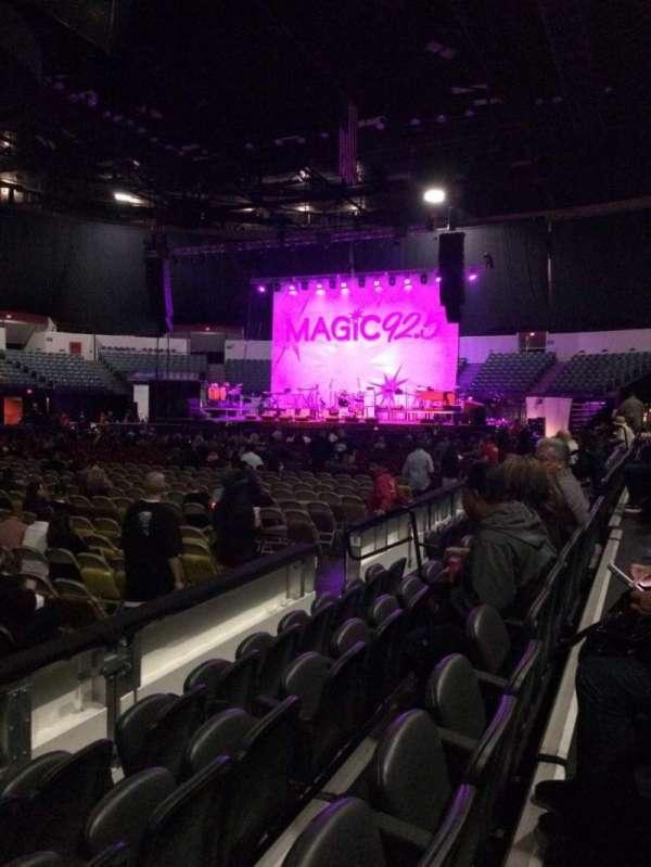 Pechanga Arena, secção: LL14, fila: 4, lugar: 13