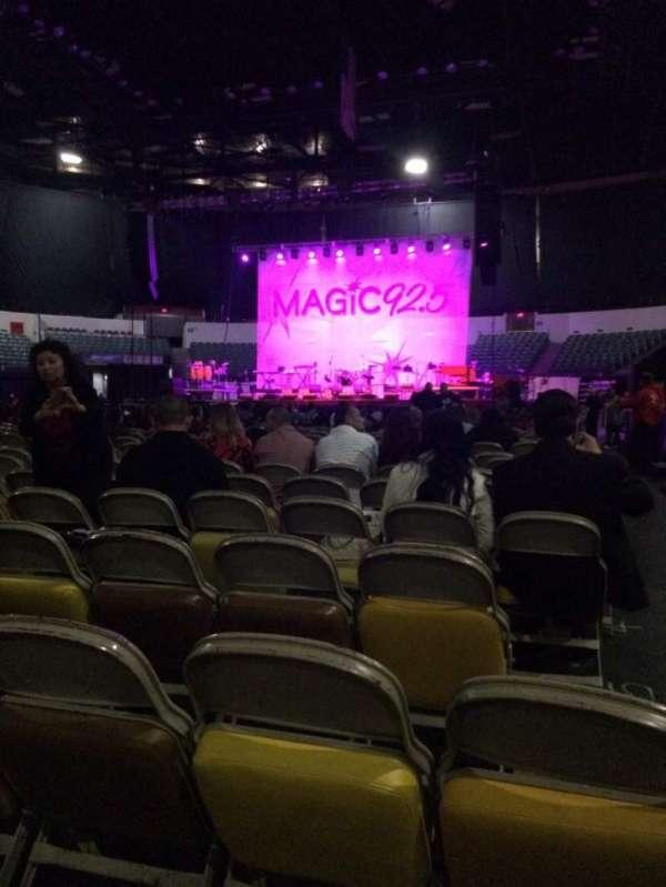 Pechanga Arena, secção: Floor F, fila: 9