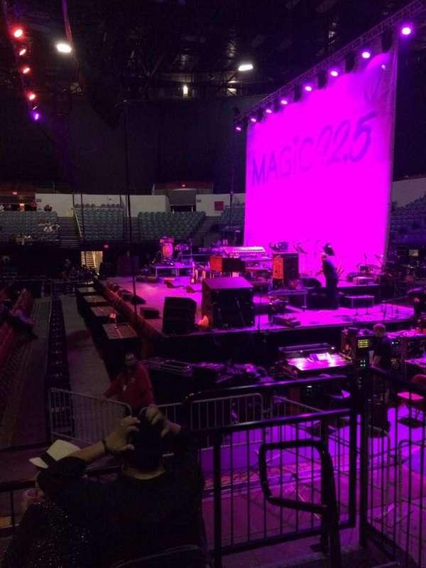 Pechanga Arena, secção: LL11, fila: 4, lugar: 2