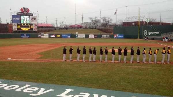 Cooley Law School Stadium, secção: M, fila: 1, lugar: 6