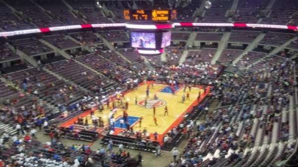 The Palace of Auburn Hills, secção: 206, fila: 9, lugar: 12