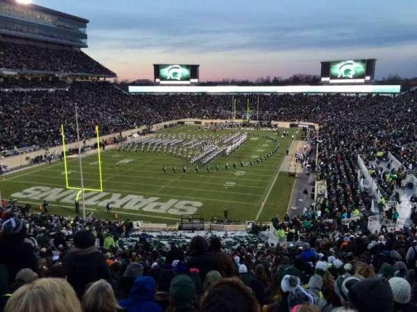 Spartan Stadium, secção: 14, fila: 56, lugar: 24
