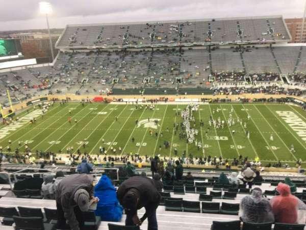 Spartan Stadium, secção: 123, fila: 28, lugar: 10
